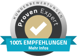 Positive feedback from our customers on ProvenExpert.